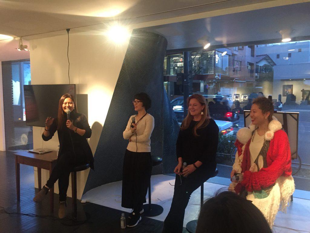 Spotkanie z Japońskimi artystkami Japonia 2018. Zdjęcie autorki.